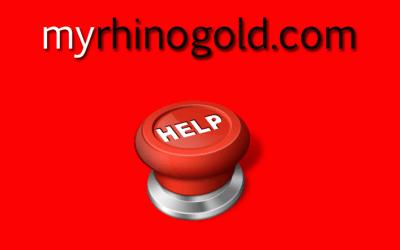 RhinoGold support via myrhinogold.com