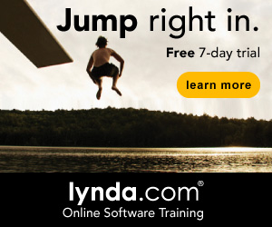 Get your 7-day FREE trial @ lynda.com