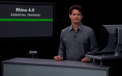 Review of Rhino 5.0 on-line training at lynda.com