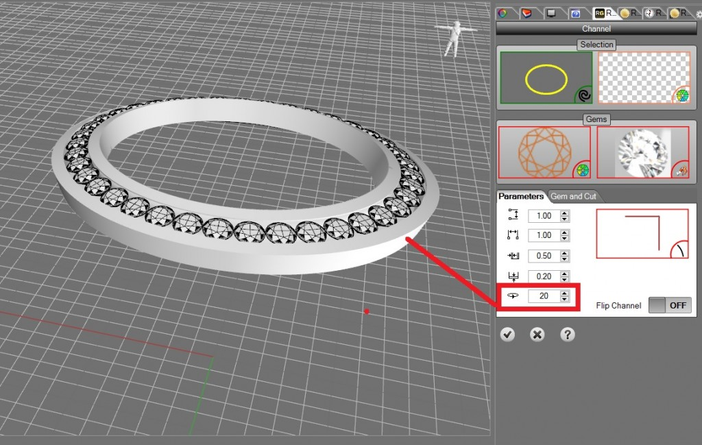 rhinogold 4 channel tool for halo rings
