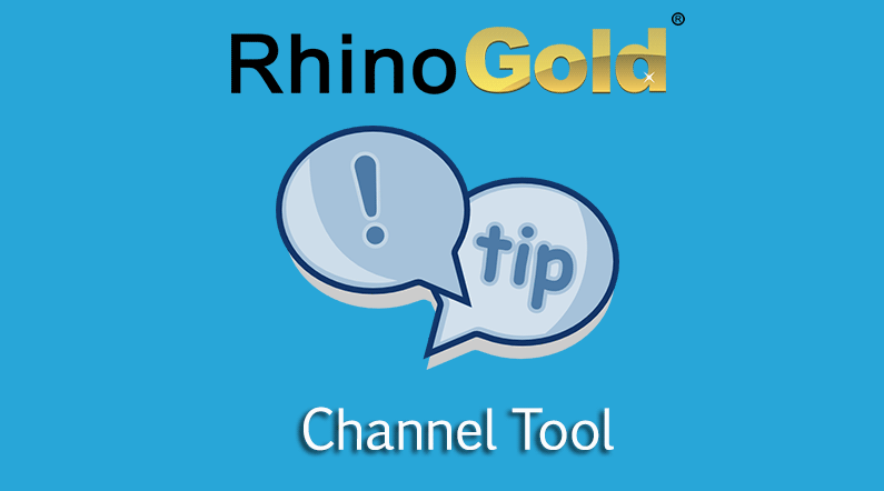 RhinoGold Channel Tool – change the quantity of stones