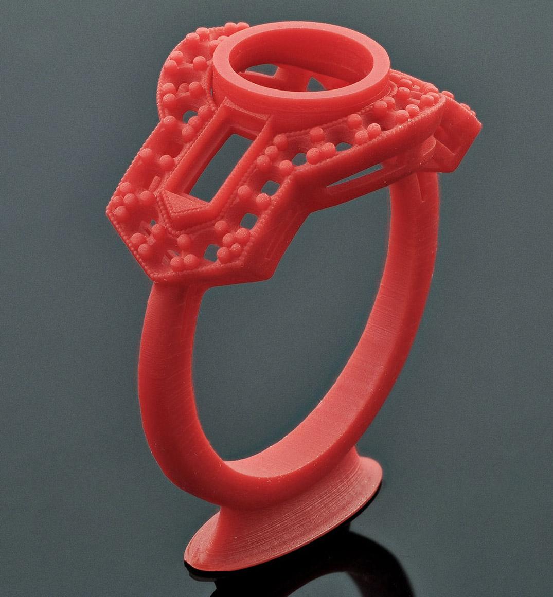 Vintage Ring - Jose Alfredo (GrabCad) - Solus DLP 3d Printer