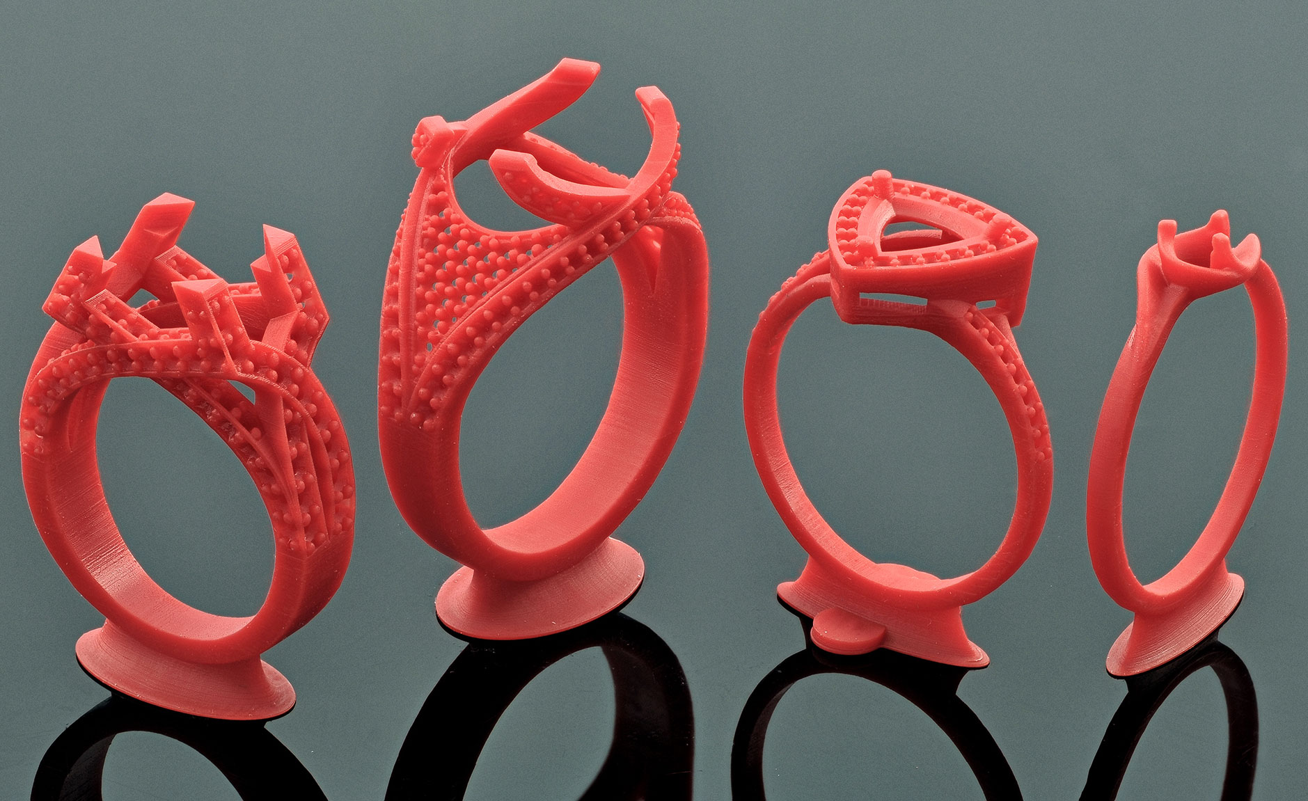 Ring Samples - Solus DLP 3d Printer