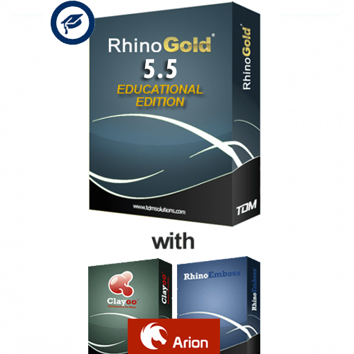RhinoGold 5 5 (excl  Rhino 5) Educational Licence