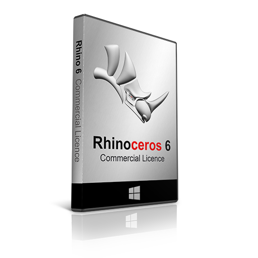 Rhino 6 Commercial licence for Windows